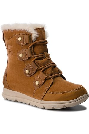 sorel Winterstiefel - Schneeschuhe - Explorer Joan NL3039 Camel Brown/Ancient Fossil 224