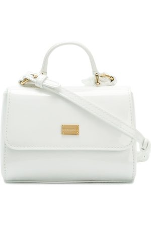 Dolce & Gabbana Handtasche mit Logo-Schild