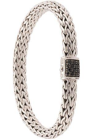 John Hardy Classic Chain' Sterlingsilber-Armband mit Saphirverzierung