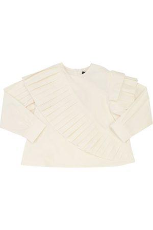 MUMMYMOON Bluse Aus Baumwollpopeline Mit Rüschen