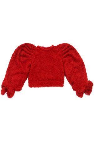 MUMMYMOON Sweater Aus Bouclé Mit Schleifen