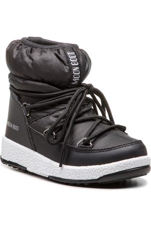 Moon Boot Schneeschuhe - Jr Girl Low Nylon Wp 34051800001 Black