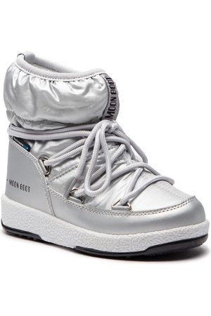 Moon Boot Schneeschuhe - Jr Girl Low 34051800002 Silver Met.