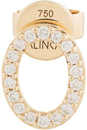 ALINKA 18kt 'Cloud' Gelbgoldohrstecker mit Diamanten