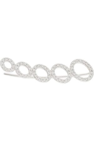 ALINKA 18kt 'Cloud' Ear Cuff aus Weißgold mit Diamanten