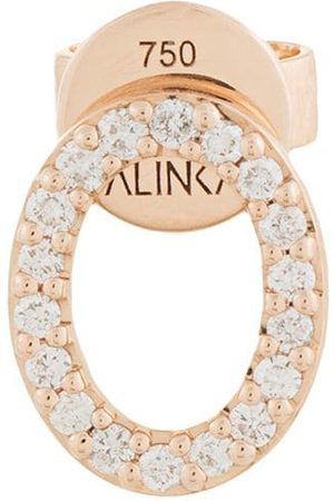 ALINKA 18kt 'Cloud' Rotgoldohrstecker mit Diamanten