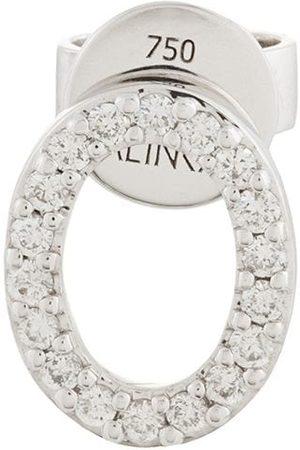 ALINKA 18kt 'Cloud' Weißgoldohrstecker mit Diamanten
