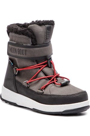 Moon Boot Schneeschuhe - Jr Boy Boot Wp 34051600002 Black/Castleroc