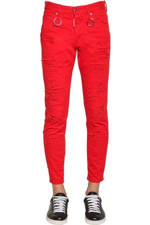 """Dsquared2 Herren Skinny - 15cm Jeans Aus Baumwolldenim """"skinny Dan"""""""