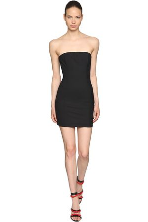 Dsquared2 Kleid Aus Stretch-cool Wool