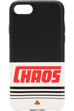 Chaos Iphone 7/8-cover Aus Leder Mit Druck