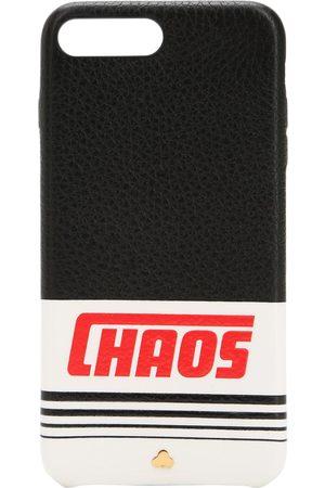 Chaos Iphone 7/8 Plus-cover Aus Leder Mit Druck