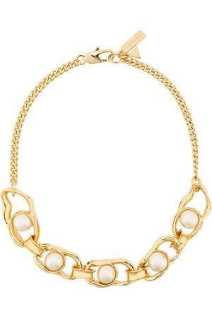 Coup De Coeur Halskette mit Perlen