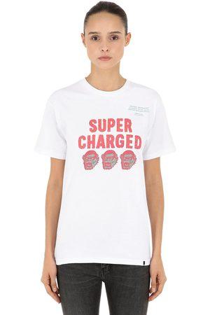 X-Large T-shirt Aus Baumwolljersey Mit Druck