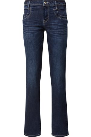 TOM TAILOR Damen Alexa Straight Jeans, , unifarben, Gr.28/30
