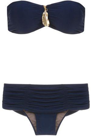 Brigitte Trägerloser Bikini