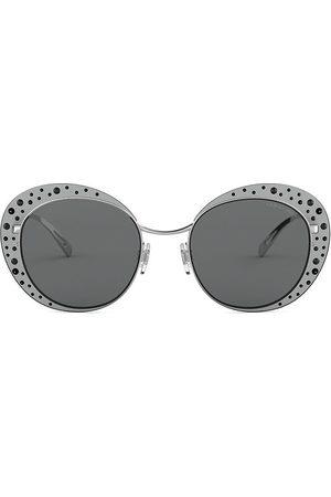 Armani Kristallverzierte Sonnenbrille