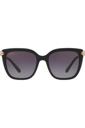 Bvlgari Sonnenbrille im Oversized-Look