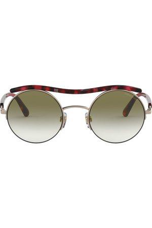 Armani Sonnenbrille mit runden Gläsern