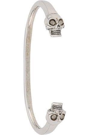 Alexander McQueen Herren Armbänder - Armspange mit Totenköpfen