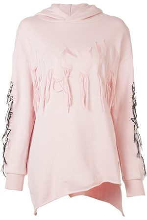 HACULLA Damen Sweatshirts - Kapuzenpullover mit Fransen