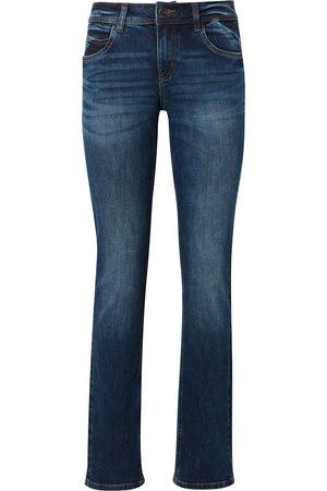 TOM TAILOR Damen Alexa Straight Jeans, , unifarben, Gr.27/30