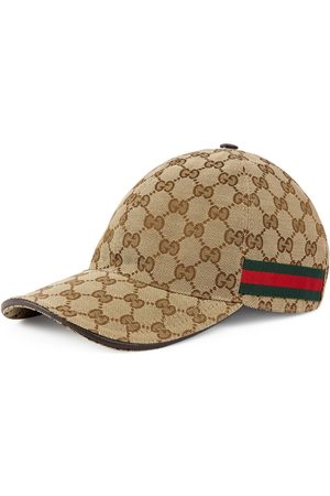 Gucci Caps - Baseball-Cap mit Webstreifen