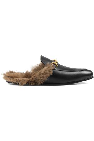 Gucci Princetown Slipper aus Leder