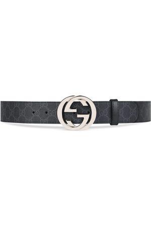 Gucci Herren Gürtel - Gürtel aus GG Supreme mit GG Schnalle