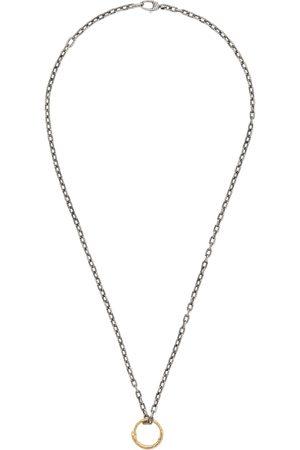 Gucci Damen Halsketten - Halskette mit Schlangenring-Anhänger aus Gold
