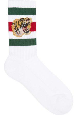 Gucci Socken aus Stretch-Baumwolle mit Tiger