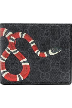 Gucci Brieftasche aus GG Supreme mit Kingsnake-Print