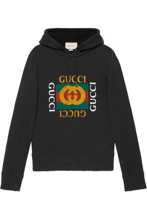 Gucci Übergroßer Pullover mit logo