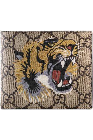 Gucci Brieftasche aus GG Supreme mit Tigerprint
