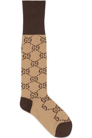 Gucci Socken aus Baumwolle mit GG