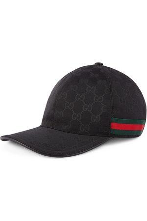 Gucci Baseball-Cap mit Webstreifen