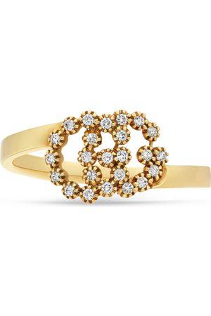 Gucci GG Ring mit Diamanten