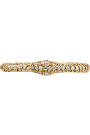 Gucci Ouroboros-Ring aus Gold und Diamanten