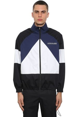 Vetements Mustermann Color Block Zip-up Jacket