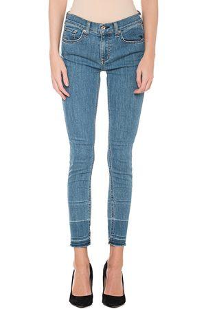 RAG&BONE Damen Skinny - Skinny Ankle Light Blue