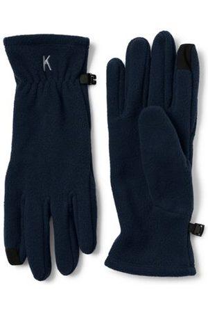 Lands' End Herren Handschuhe - ThermaCheck 100 Easy Touch Fleece-Handschuhe