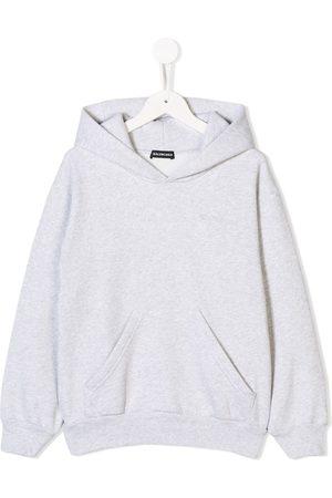 Balenciaga Jungen Sweatshirts - Kapuzenpullover mit Logo-Stickerei