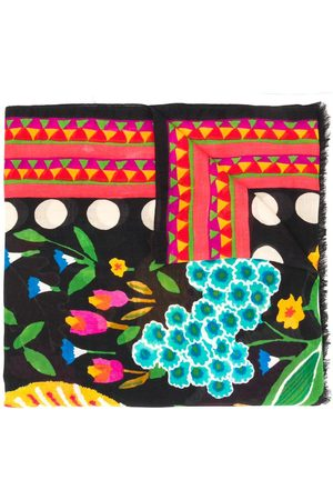 La DoubleJ Damen Schals - Schal mit Print