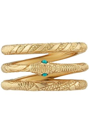 Gucci Three Band Ouroboros' Ring