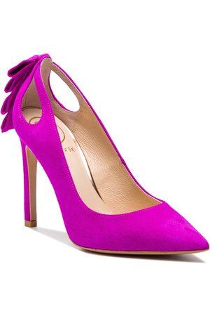 BALDOWSKI High Heels - W00476-1451-001 Zamsz Fuksja