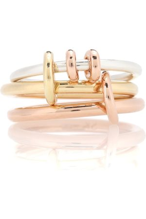 SPINELLI KILCOLLIN Ring Raneth aus 18kt Roségold, 18kt Gelbgold und 925er Sterlingsilber