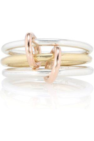 SPINELLI KILCOLLIN Ring Solarium Silver aus 18kt Gelbgold und 925er Sterlingsilber