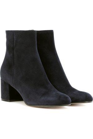 Gianvito Rossi Exklusiv bei mytheresa – Ankle Boots Margaux aus Veloursleder