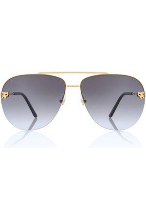 CARTIER EYEWEAR Aviator-Sonnenbrille Panthère de Cartier