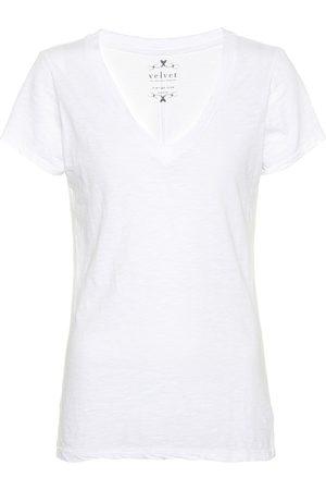Velvet Damen T-Shirts, Polos & Longsleeves - Baumwollshirt